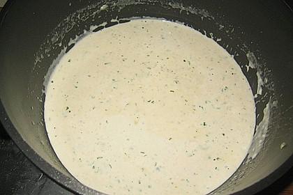 Rucolacremesuppe mit gerösteten Pinienkernen 28