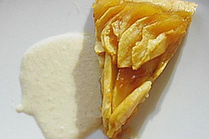 Apfeltarte mit Vanillesoße 5