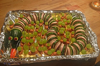Gurkenschlange im Gemüsebeet 7
