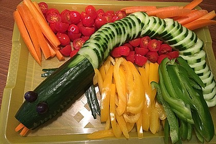 Gurkenschlange im Gemüsebeet 14