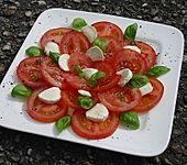 Tomaten mit  Mozzarella