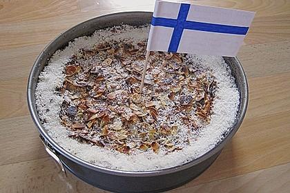 Finnischer Blaubeerkuchen mit Kermaviili 41