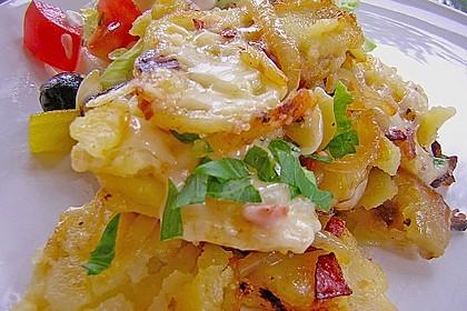 Käse - Bratkartoffeln