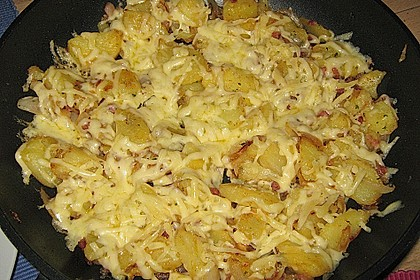 Käse - Bratkartoffeln 3