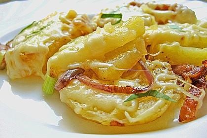 Käse - Bratkartoffeln 1