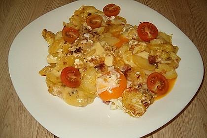 Käse - Bratkartoffeln 4