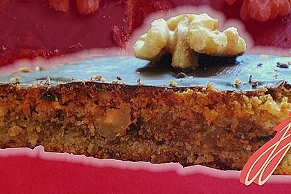 Süßer Zucchinikuchen vom Blech 10