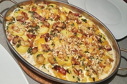 Kartoffel - Steckrüben - Gratin 10