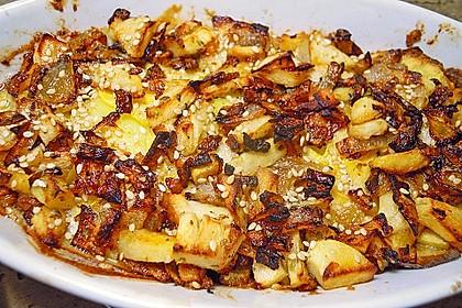 Kartoffel - Steckrüben - Gratin