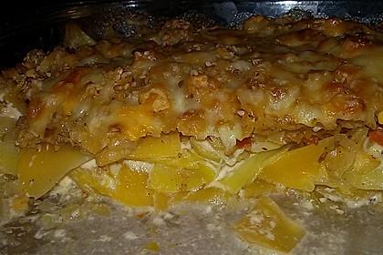 Kartoffel - Steckrüben - Gratin 2