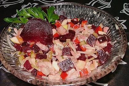 Heringssalat rot 1