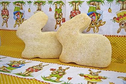 Osterhasen aus Quarkknetteig (Bild)