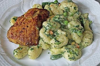 Gnocchi mit Schlagobers - Gemüse 0