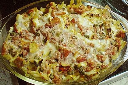 Dieters Linguine mit würziger Camembert - Tomaten - Sauce 19