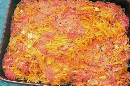 Dieters Linguine mit würziger Camembert - Tomaten - Sauce 27