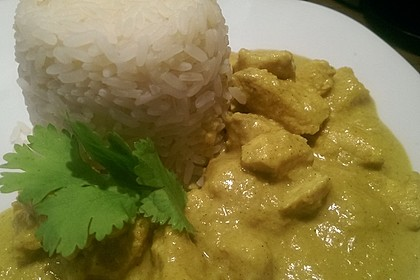 Cremiges indisches Chicken - Curry 1