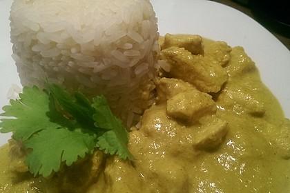 Cremiges indisches Chicken - Curry 4