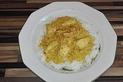 Cremiges indisches Chicken - Curry 3