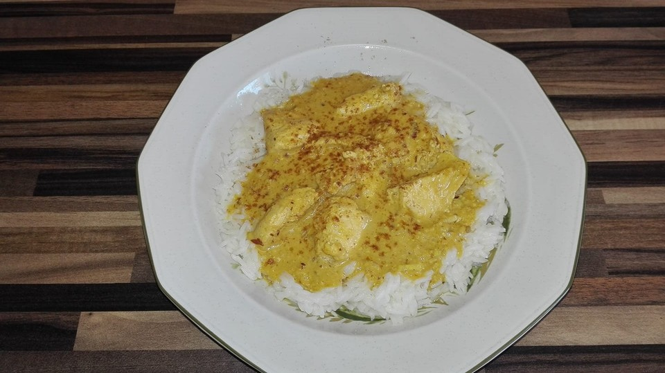 Cremiges indisches Chicken - Curry von cuocoroma | Chefkoch.de