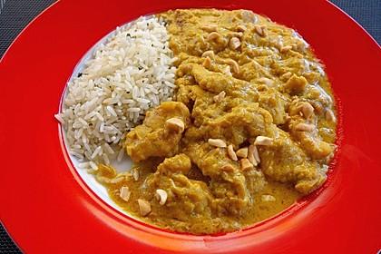 Cremiges indisches Chicken - Curry