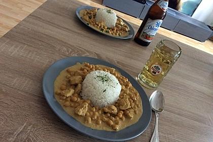 Cremiges indisches Chicken - Curry 1