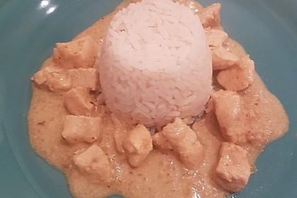 Cremiges indisches Chicken - Curry 2