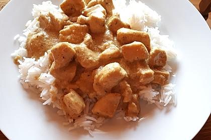 Cremiges indisches Chicken - Curry 14