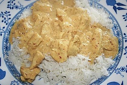 Cremiges indisches Chicken - Curry 6