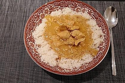 Cremiges indisches Chicken - Curry 11
