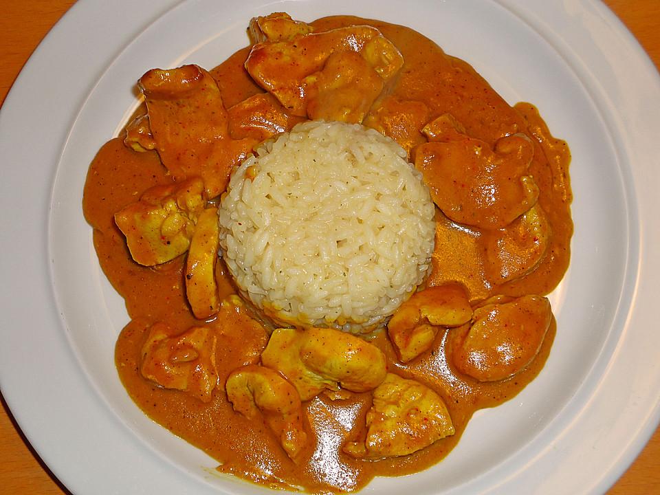 Rezepte hahnchen curry indisch