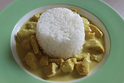 Cremiges indisches Chicken - Curry 4