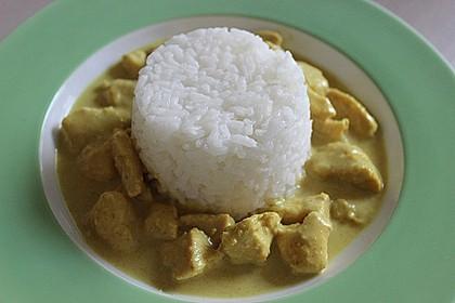 Cremiges indisches Chicken - Curry 10