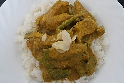 Cremiges indisches Chicken - Curry 8