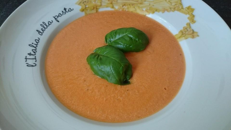tomatencremesuppe der italiener unter den suppen von vossdd. Black Bedroom Furniture Sets. Home Design Ideas
