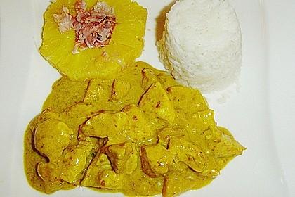 Ananas - Puten - Curry