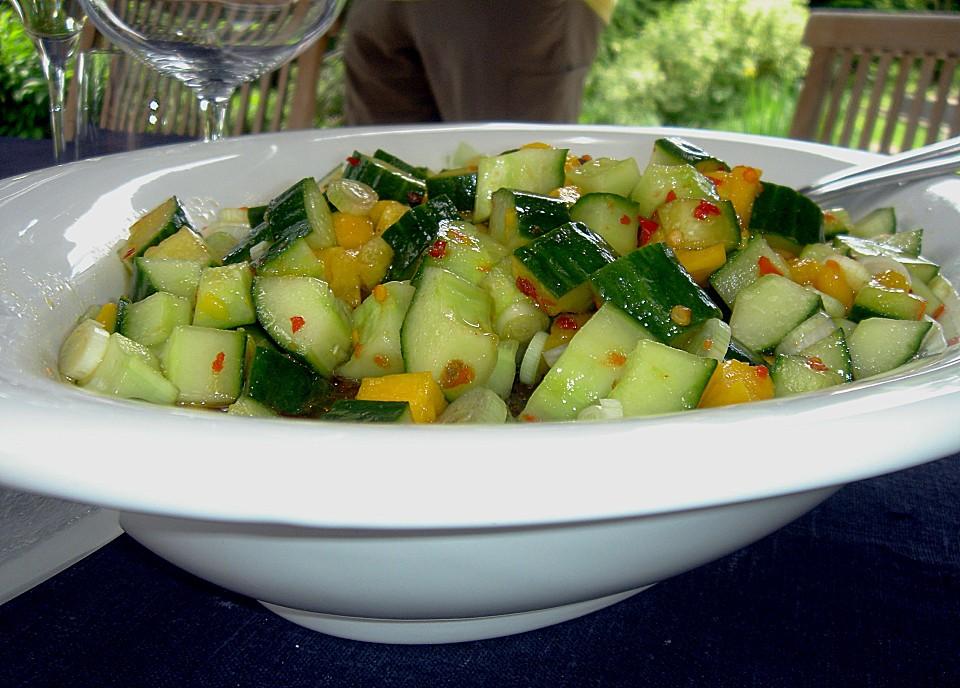 gurkensalat süß sauer rezept mit bild von schoferle chefkoch