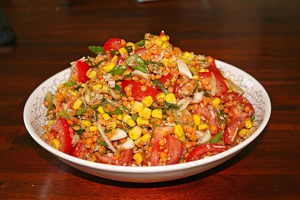 Salat linsen rezept