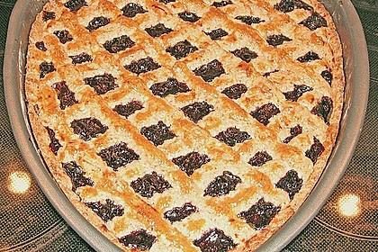 Linzer Torte aus Mürbteig 22