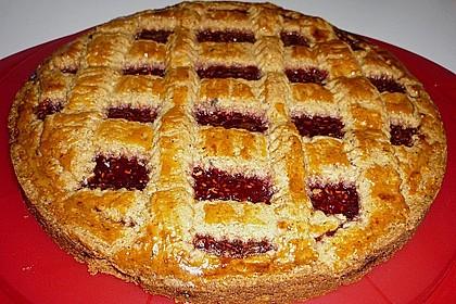 Linzer Torte aus Mürbteig 16