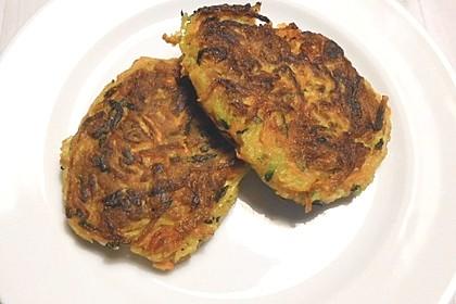 Gemüse - Puffer 1