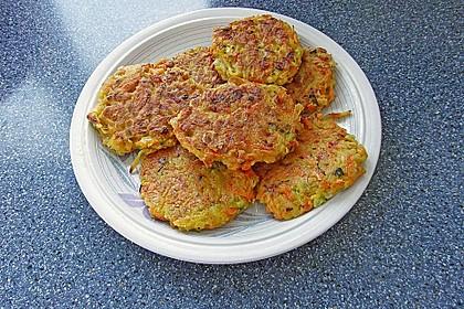 Gemüse - Puffer 12