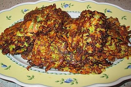 Gemüse - Puffer 22