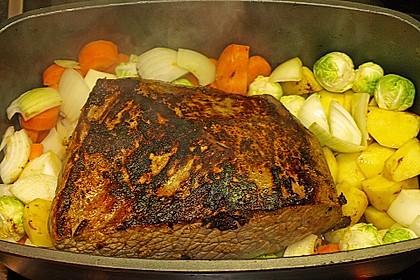 Rinderbraten mit Balsamico - Rotweinsauce 1