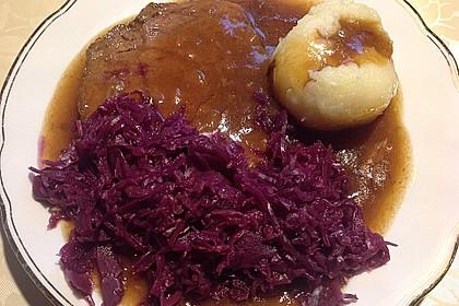 Rinderbraten mit Balsamico - Rotweinsauce 5