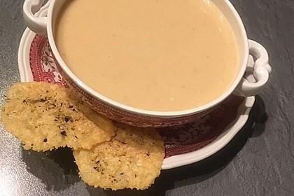 Knoblauchsuppe mit Parmesan 6