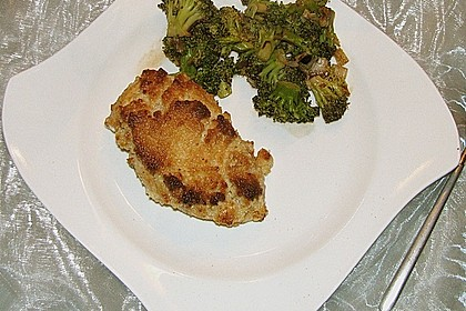 Hähnchenfilets mit Macadamia - Kruste und Brokkoli an Balsamico 6