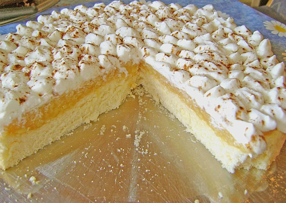 Kuchen mit geriebenen apfel