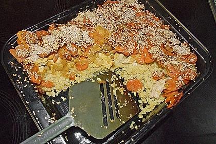 Couscous - Auflauf 4