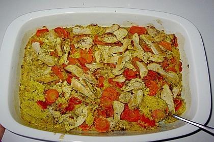 Couscous - Auflauf 1