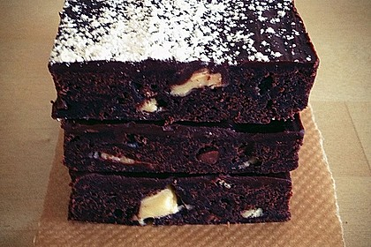 Triple Chocolate Brownies 16